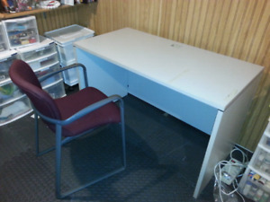 Basic desk with chair $15