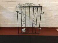 Wrought Iron Gate.