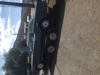 Lincoln continental 460 reduced  swap trade for motorbike /sled