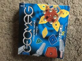 Geomag set of 46 plus lots of extras included from other sets