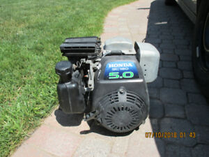 HONDA GX160 5HP. ENGINE,POWER WASHER, GO CART,MINI BIKE