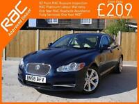 2008 Jaguar XF 2.7D V6 Turbo Diesel Luxury 6 Speed Auto Sat Nav Bluetooth Full L