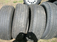 set of 4  225/65R17 Toyo Open Country