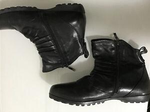 Spring Step Ulzana Black Leather Women's Shoes - Size 10 Strathcona County Edmonton Area image 9