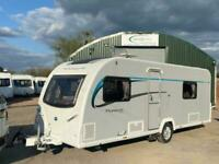 2014 Bailey Pursuit 550/4 4 berth fixed singles Caravan