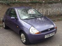 Ford Ka 1.3 2006 Style,NEW MOT,LOW MILES,1 OWNER