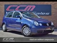 Volkswagen Polo 1.2 S AC 5DR 2003 + FULL VOLKSWAGEN HISTORY + ONE OWNER +