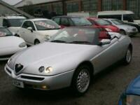 1997 Alfa Romeo Spider 2.0 TS 16V 2dr CONVERTIBLE Petrol Manual