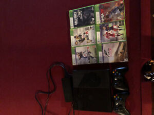 XBOX 360 500GB with Games