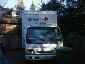 EXCELLENT BUY- DIESEL TRUCK WITH 18 FT BOX. MINT NO RUST