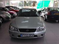 2003 Lexus IS 200 2.0 SE Full mot 01/10/2017