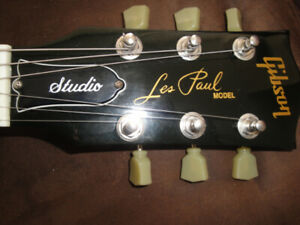 GIBSON LES PAUL STUDIO MADE IN USA ELECTRIC GUITAR, HSC $1100