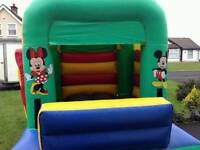 PRICE REDUCED 10ft bouncy castle