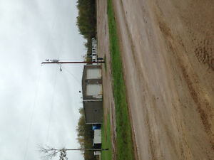 For sale in Red Earth Creek, 4 acres, shop , office