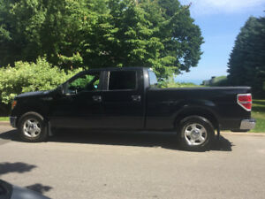 2010 Ford F-150 Black Pickup Truck