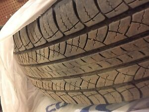 245/69R18 Jeep all season tires and rims + wheel spacers