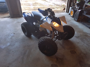 Almost new Polaris Outlaw 90, hardly used, ready to go!
