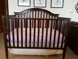 Brown Wooden Crib for sale
