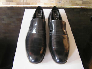 Black Patent Leather Shoes by Dack Size 9 Like New