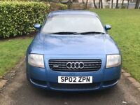 Audi TT Coupe quattro (225) (blue) 2002