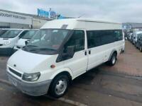2002 Ford Transit Medium Roof 17 Seater TDi 125ps minibus NICE DRIVE NO VAT COUN