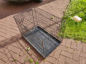 Medium size folding pet cage