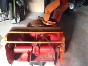 GRAVELY Snowblower attachment