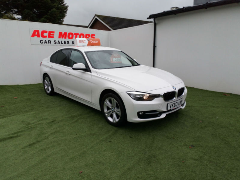 2013 63 BMW 318 2.0TD D-SPORT 143BHP,ONLY 20,000 WITH MILES FULL SERVICE HISTORY