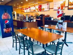 Profitable Restaurant Franchise For Sale in Busy Office Building
