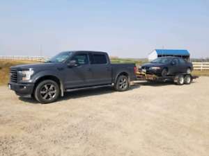 Rusty's hauling and scrap car removal