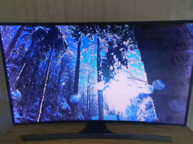 """Samsung 48"""" Curved 4k SUHD 3D TV"""