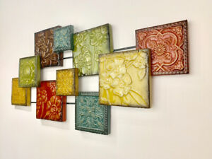 Metal Square Wall Decor