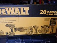 DEWALT DCK590L2 20-Volt MAX Li-Ion 3.0 Ah 5-Tool Combo Kit