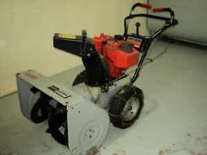 Snow blower - Sears Craftsman 28 inches wide, 8 horsepower