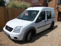 Ford Transit Connect 1.8TDCi(90PS)High Roof Crew Van T230 LWB Trend - EX POLICE