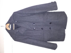 For sale: men's medium Kenneth Cole wool peacoat