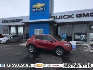 2017 Buick Encore Essence-Turbo-Nav-Leather Heated-Sunroof...