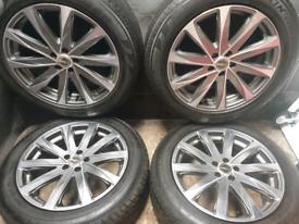 19 inch 5x112 alloy wheels
