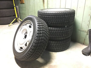 Winter Tires and Rims for VW Golf GTi