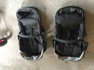 New Contours Options Double stroller, seats NEVER been used!!!