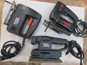 Collection of Small Power Tools