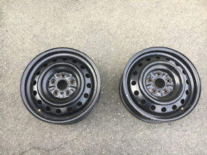 "16"" winter rims in excellent condition 5x114.3"