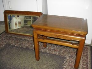 Small table, hardwood, antique