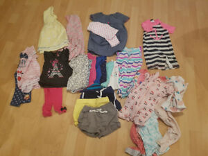 Baby girl 12-18 months summer clothes