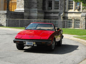 Triumph TR7 to trade  for classic pick up