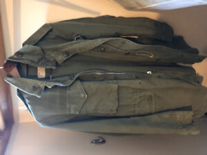 Attractive male or unisex army jacket