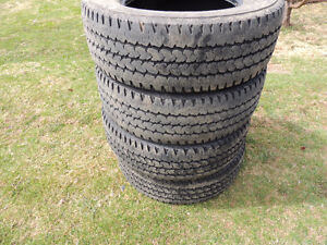 4  tires 245/70R 17  for sale
