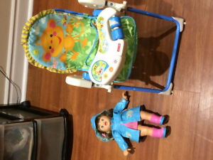 Toy doll chair