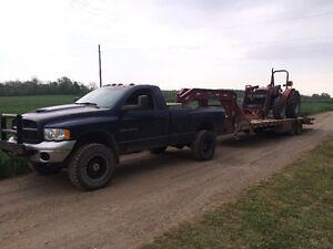 2005 Dodge Ram 4x4 with Cummins and 6 speed standard