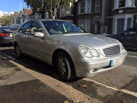 Mercedes C CLASS C200, Petrol, Silver, FOR SALE